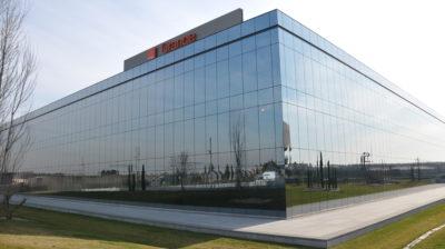 Prédio da Orange, gigante de telecomunicações francesa