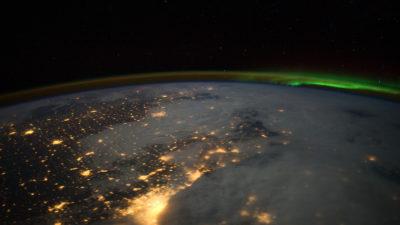 imagem de satélite da camada de ozônio