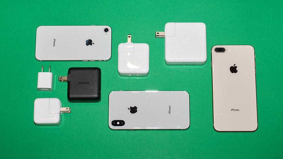 Carregadores compatíveis com aparelhos Apple
