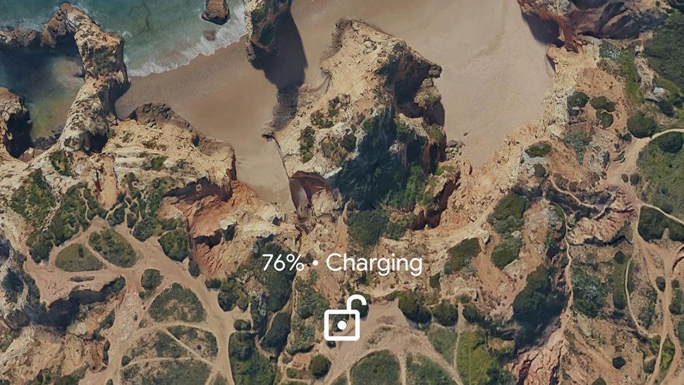Tela de carregamento do Pixel 2