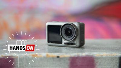 Câmera de ação DJI Osmo Action