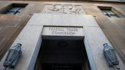 Entrada da FTC (Comissão Federal de Comércio) nos EUA