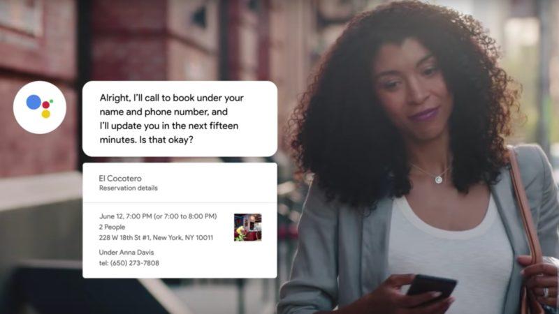 Google Duplex, um serviço de inteligência artificial que faz chamadas pelas pessoas