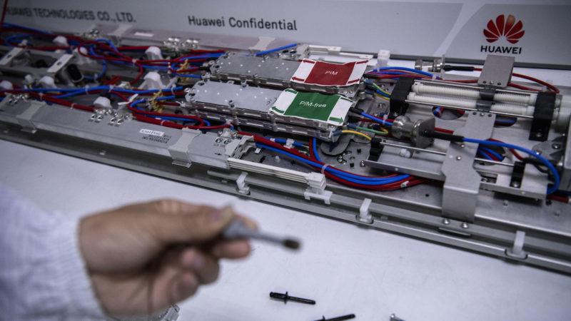 Área de pesquisa da Huawei na China