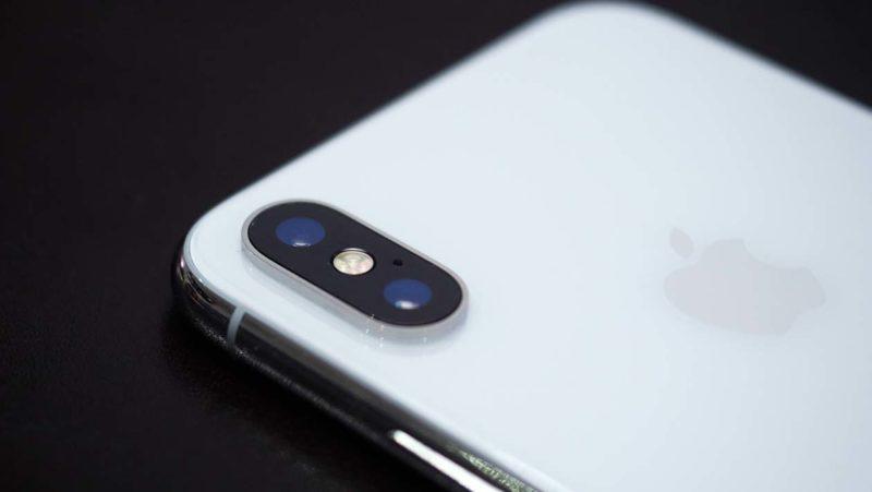 Conjunto de câmeras do iPhone Xs Max