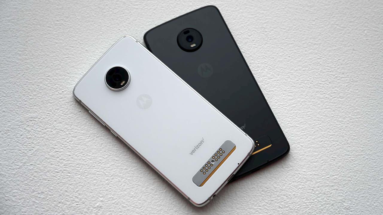 Traseira do Motorola Moto Z4
