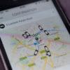 Aplicativo do Uber