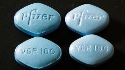 Comprimidos do medicamento Viagra
