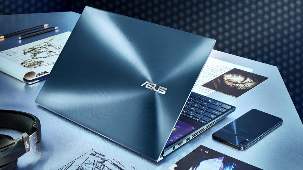 Laptop ZenBook Pro Duo fechado