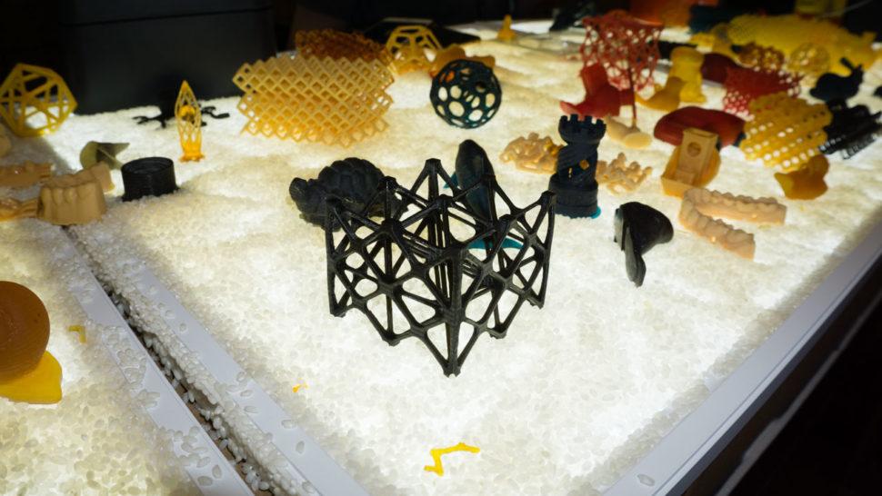 Alguns objetos impressos na ONO 3D