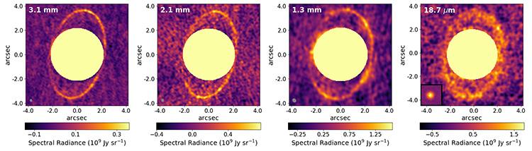 - aneis urano - Cientistas capturam pela primeira vez uma imagem dos anéis de Urano
