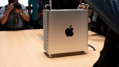 Apple Mac Pro de lado