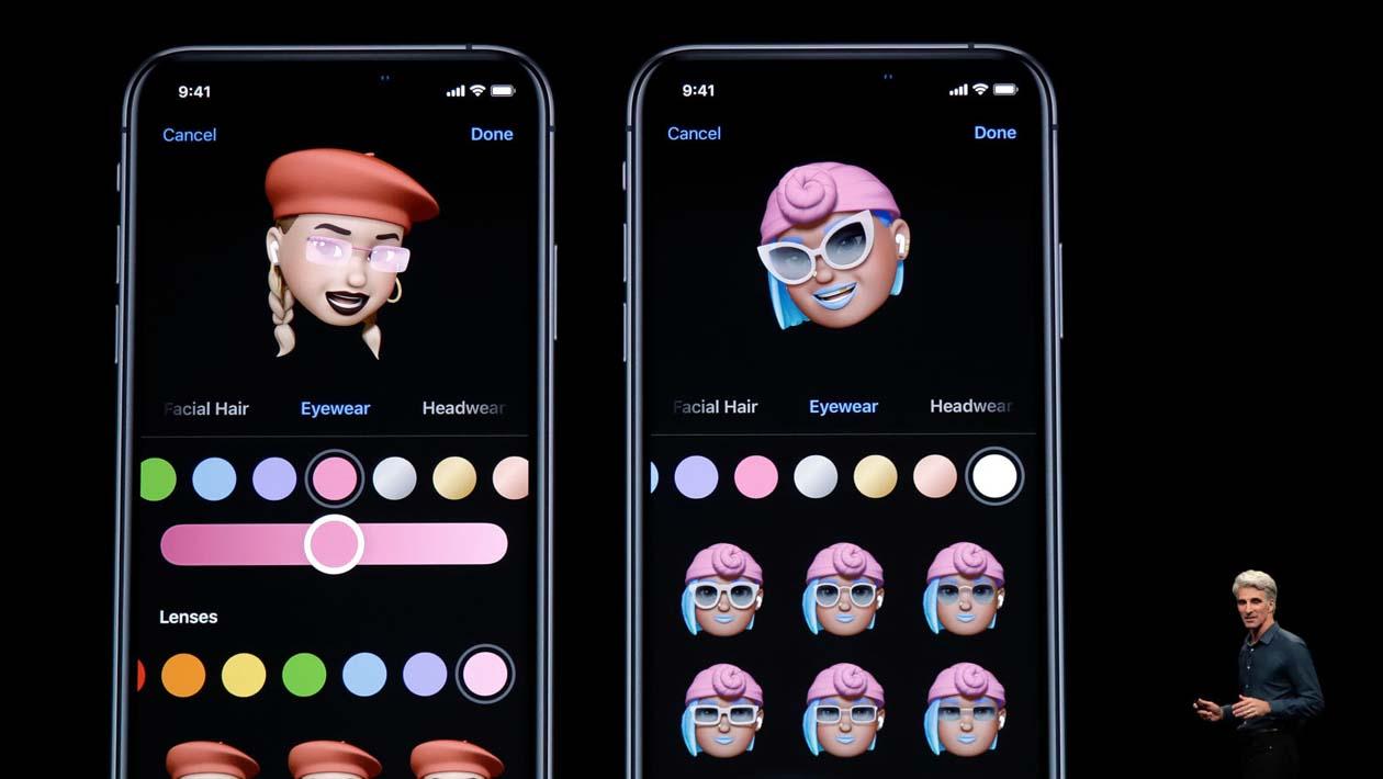 Novos Memojis da Apple com maquiagem