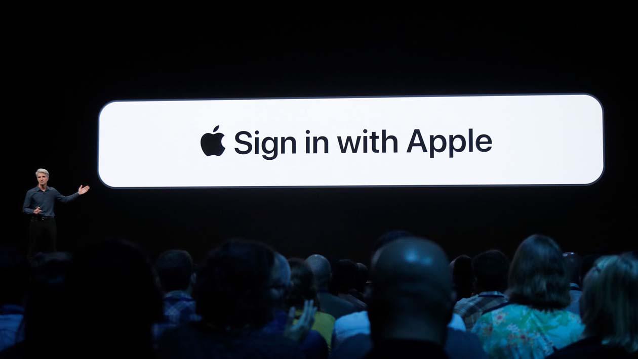 Função 'Entrar com a Apple' é anunciada durante a WWDC 2019