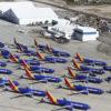 Frota de aviões da companhia Southwest