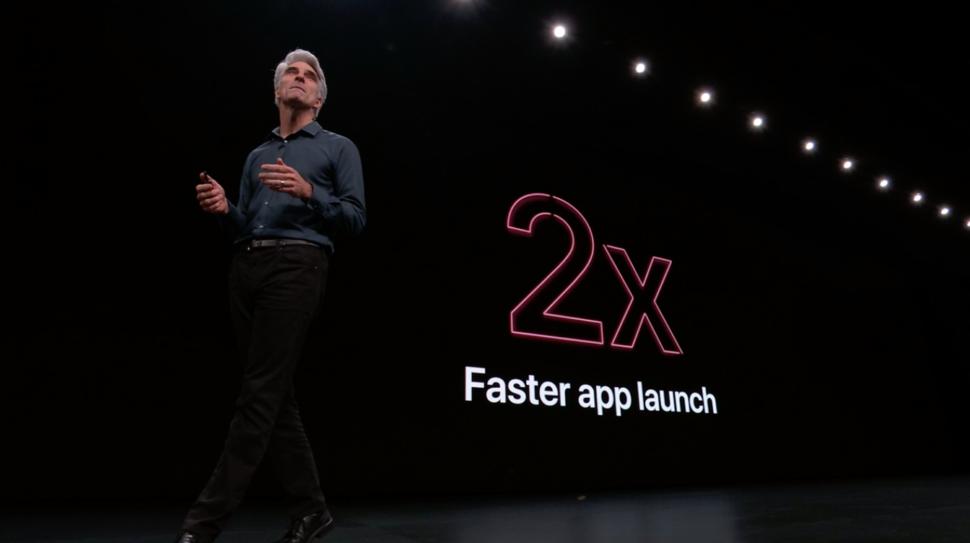 Craig Federighi na WWDC 2019
