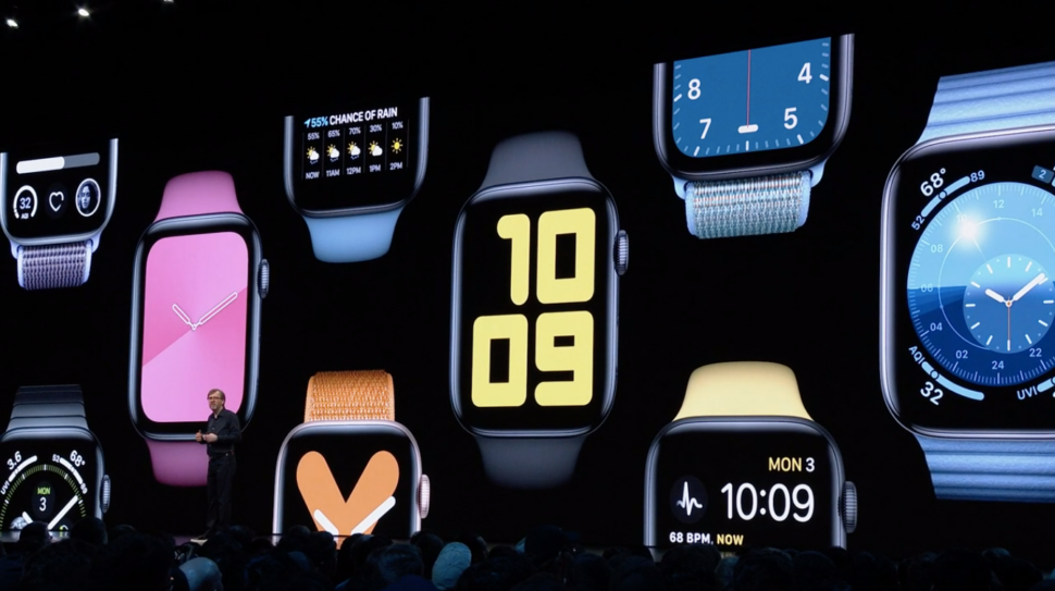 Faces do watchOS 6