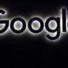 Logotipo do Google em fundo preto