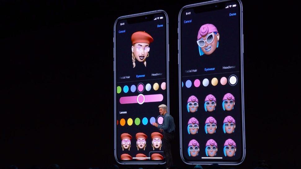 Outras opções de memojis no iOS 13