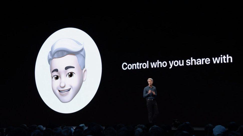 App mensagens com memoji - iOS 13