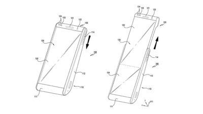 Patente de smartphone retrátil da Samsung