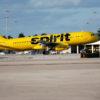 Avião da companhia Spirit