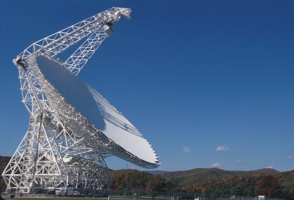 Telescópio de 100 m Green Bank