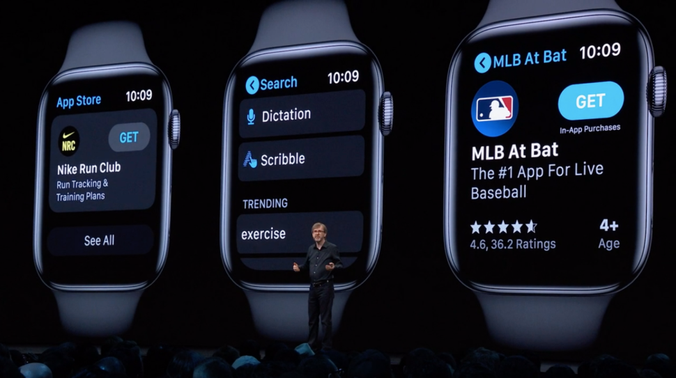 Loja de apps do Apple Watch