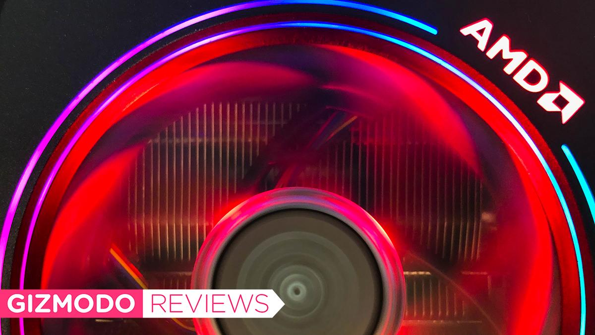 Cooler da AMD com LED