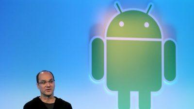 Andy Rubin, cofundador do Android, em evento realizado em 2011