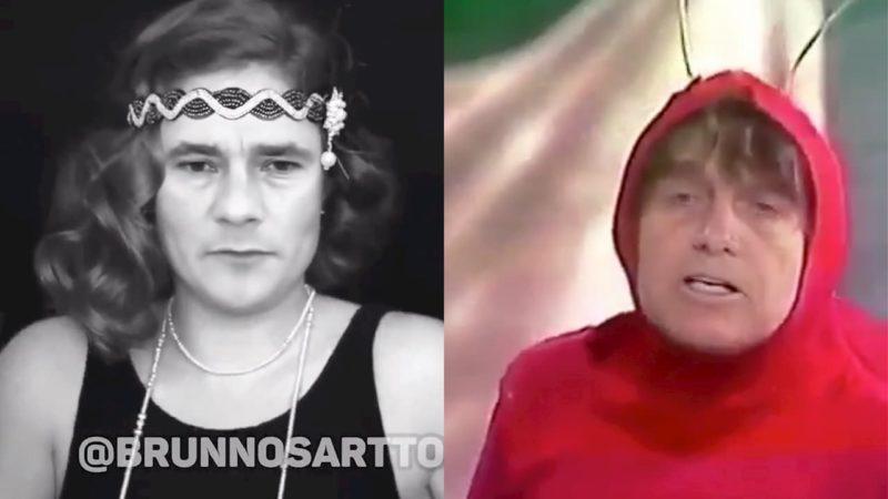 Moro e Bolsonaro são colocados em situações inusitadas via deepfake