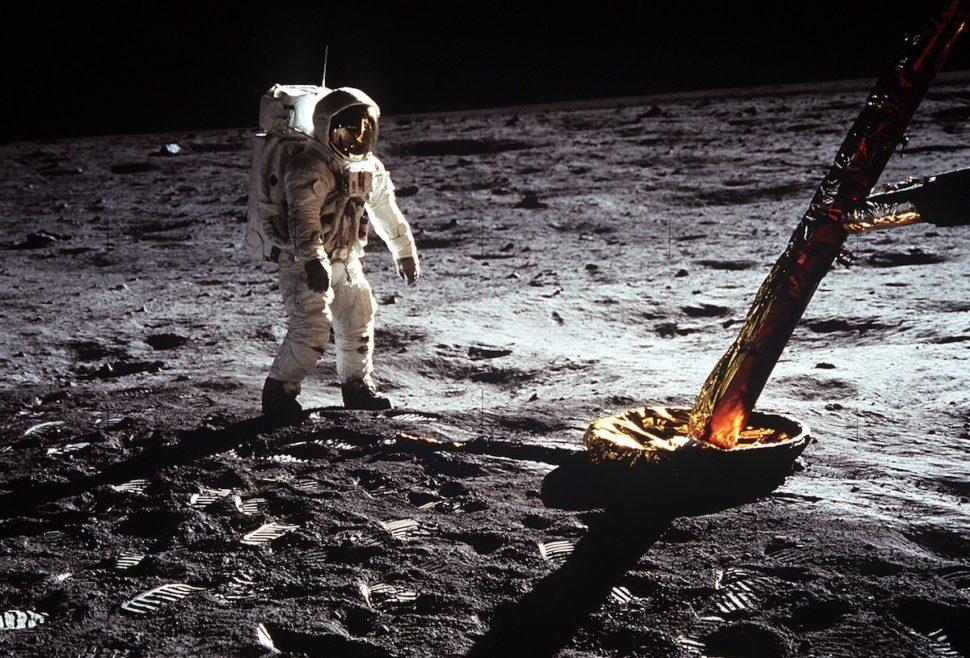 Astronauta Buzz Aldrin da missão Apollo 11