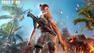 Capa do jogo móvel Free Fire, da Garena