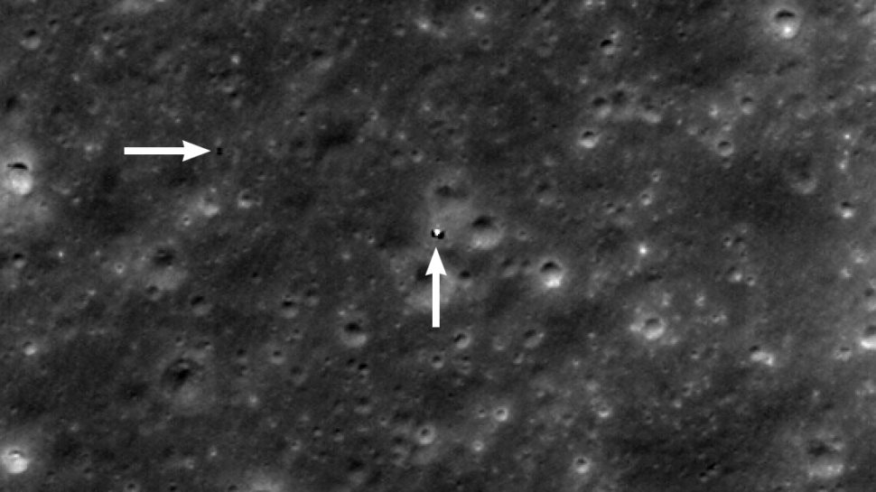 Localização do Yutu 2 feita pela NASA