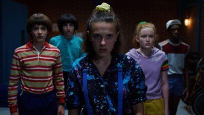 Cena da série Stranger Thing, da Netflix