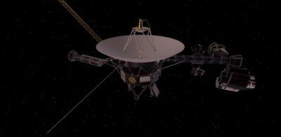 Conceito artístico da NASA de uma sonda Voyager