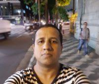 Selfie tirada com o Galaxy S10 Plus