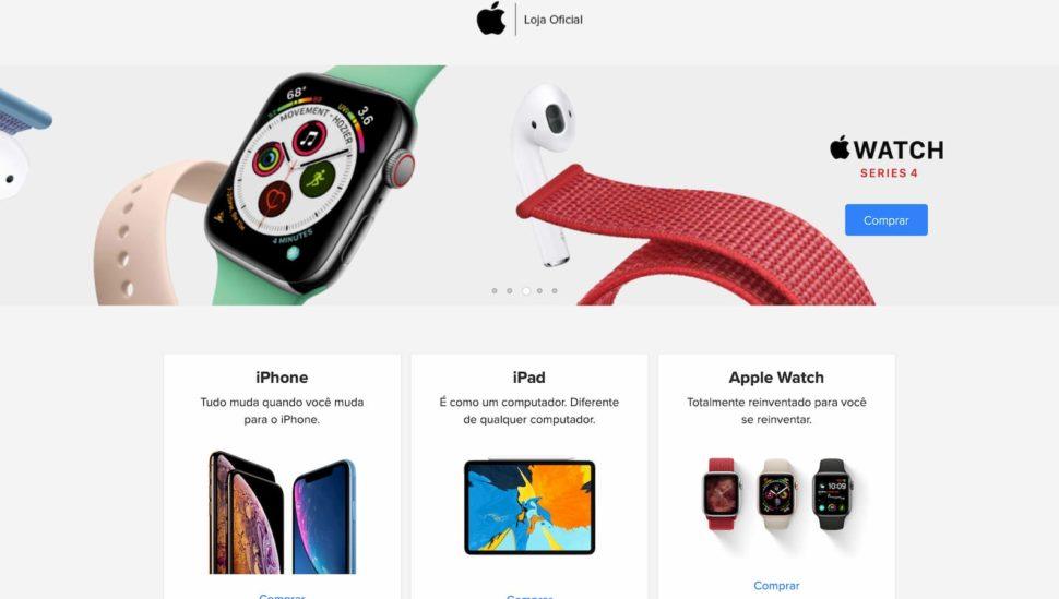 Loja autorizada de produtos Apple no Mercado Livre