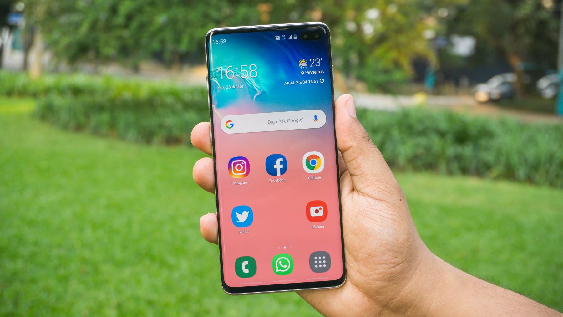 Smartphone Galaxy S10 Plus