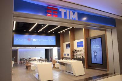 Loja da operadora TIM no shopping Morumbi, em São Paulo