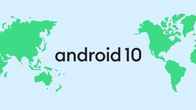 Logotipo Android 10