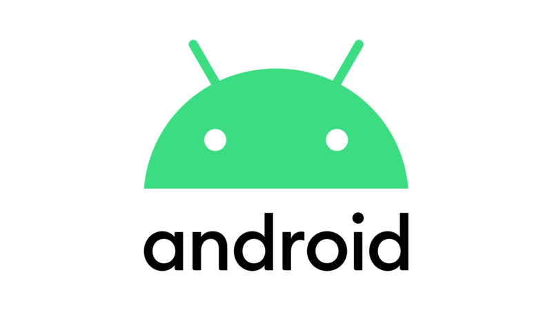 Novo logotipo do Android 10