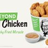 KFC testará Beyond Fried Chicken, nuggets feitos de proteína vegetal