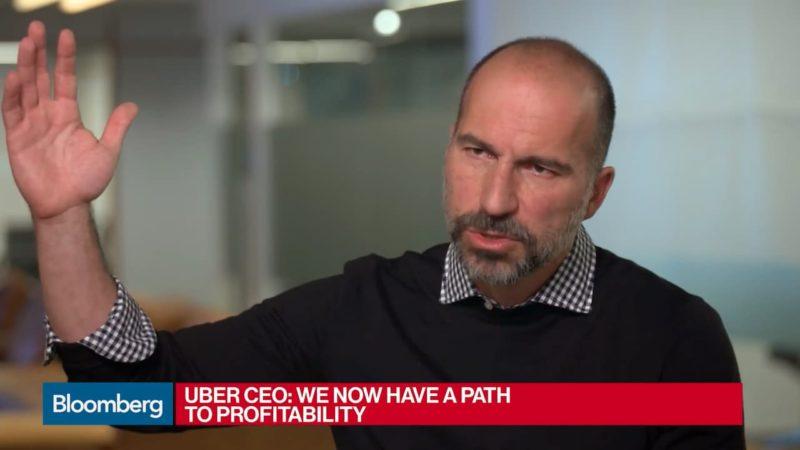 Dara Khosrowshahi, CEO da Uber