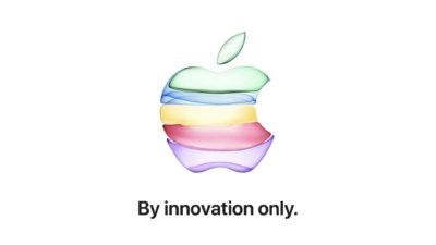 Convite de evento da Apple que ocorrerá em 10 de setembro