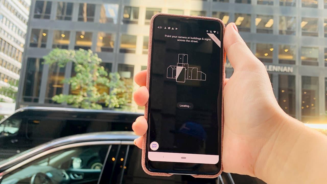 Google Maps com instruções em AR será liberado para iPhone e Androids