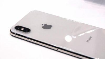 Traseira do iPhone Xs