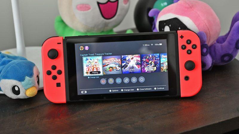 A Nintendo está trocando os console Switch recém-adquiridos pela versão atualizada gratuitamente