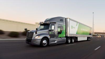 Caminhão autônomo da startup TuSimple