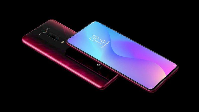 Frente e traseira do Xiaomi Mi 9T